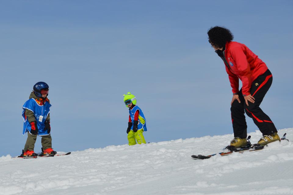 fomacion para monitor de esqui